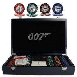007 Luxury Poker Set 300 Chips Pokerstore Nl
