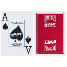 World Poker Tour Playing Cards Bicycle Red Pokerstore Nl