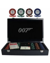 007 Luxury Poker Set 300 Chips