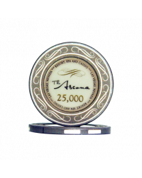 Ascona ceramic casino chips 25.000