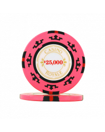 James Bond casino chips $25,000
