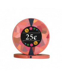 25 Cent chips ceramic Mosaic