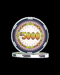 Ceramic poker chips classics €5000