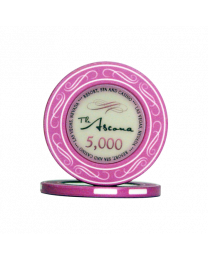 Ascona ceramic casino chips 5.000