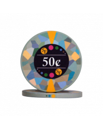 50 Cent chips ceramic Mosaic