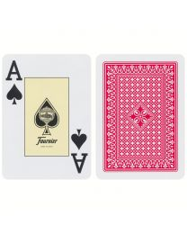 818 Poker Fournier Playing Cards Red