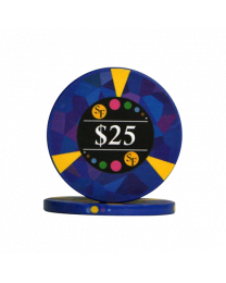 25 Dollar chips ceramic Mosaic
