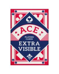 ACE Cards Extra Visible Red