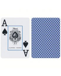 Bee Jumbo Index Playing Cards Blue