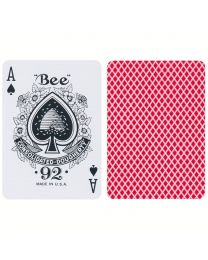 Bee Playing Cards Red