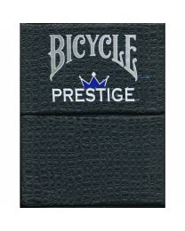 Bicycle Prestige Plastic Playing Cards Dura-Flex Blue