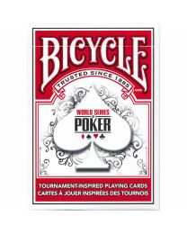 Bicycle WSOP playing cards red