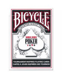Bicycle WSOP playing cards black