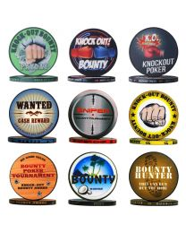 Bounty poker chips