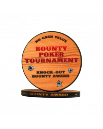 Chips bounty poker tournament