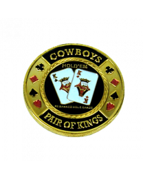 Card Protector Cowboys Pair of Kings