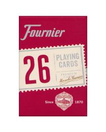 Fournier Bridge 26 Playing Cards Red