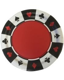 Casino Plates Place Your Bets (8 Pieces)