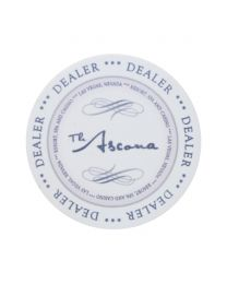 Ceramic Dealer Button Ascona