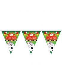 Casino Flag Garland 5 Meters