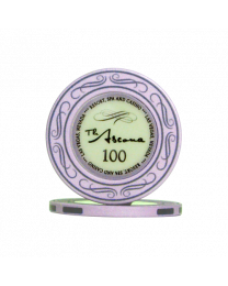 Ascona ceramic casino chips 100