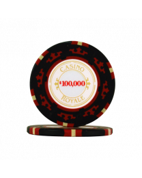 James Bond casino chips $100,000