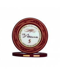 Ascona ceramic casino chips 5