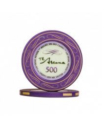 Ascona ceramic casino chips 500