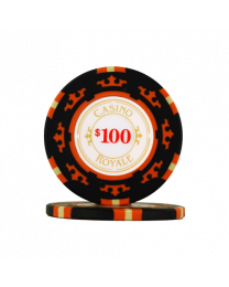 James Bond casino chips $100