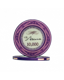 Ascona ceramic casino chips 10.000