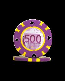 Poker chips 500 Euro