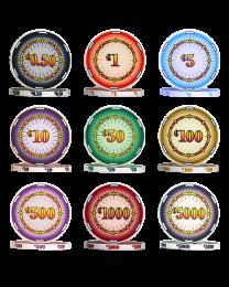 Classics poker chips