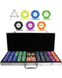 Color Cash 1000 Plus Poker Chips Set