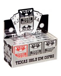 COPAG 12 Pack Plastic Poker Cards Peek Index