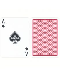 COPAG Regular Index Playing Cards Red