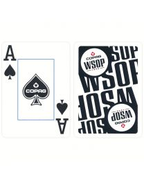 COPAG World Series of Poker Cards Black