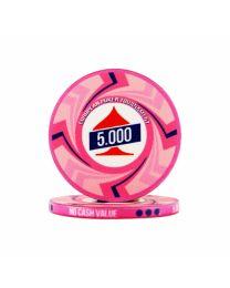 EPT Poker Chips 5.000