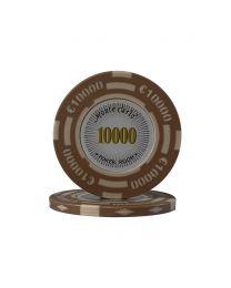 Euro poker chips Monte Carlo €10000