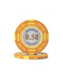 Euro poker chips Monte Carlo €0,50