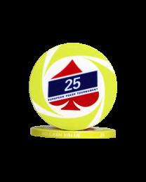 EPT poker chips 25