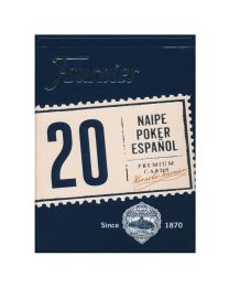 Fournier Baraja Poker Español Nº 20 Azul