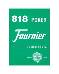 818 Poker Fournier playing cards green