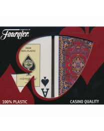 Fournier Alfombras Bridge Size Jumbo Index Playing Cards