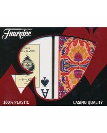 Fournier Rosas Bridge Size Jumbo Index Playing Cards
