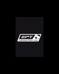 Black EPT Cut Card Pokersize