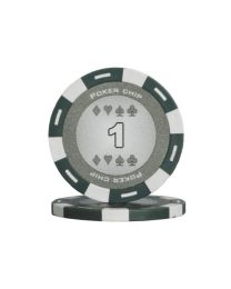 Gray color poker chips 1