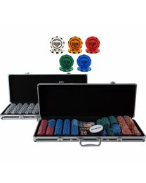 High Roller Poker Cash Game Set 1000+ Chips