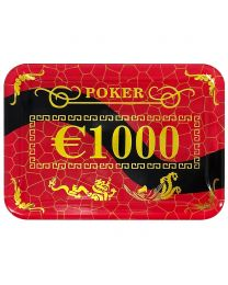 Casino Poker Plaque €1000