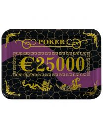 Casino Poker Plaque €25000