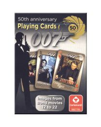 James Bond cards 50th anniversary